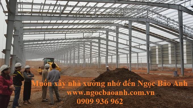 Nhà thầu xây dựng nhà xưởng Tphcm