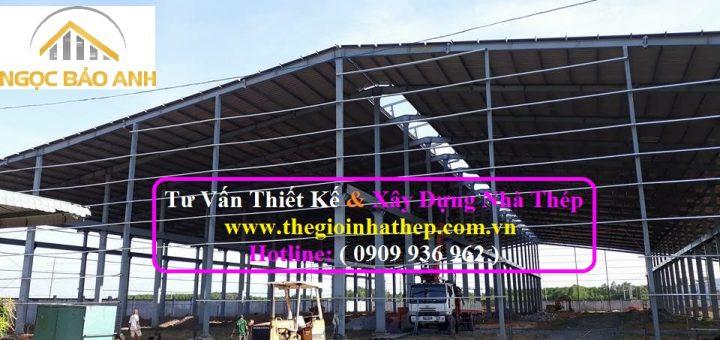 Xây dựng nhà xưởng tại TPHCM (4)