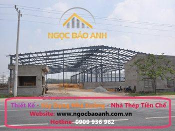 thiết kế xây dựng nhà kho tại kcn hiệp phước