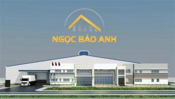 xây dựng nhà xưởng tại KCN Long Hậu