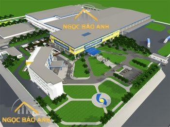 xây dựng nhà xưởng tại KCN Long Hậu Tỉnh Long An (5)