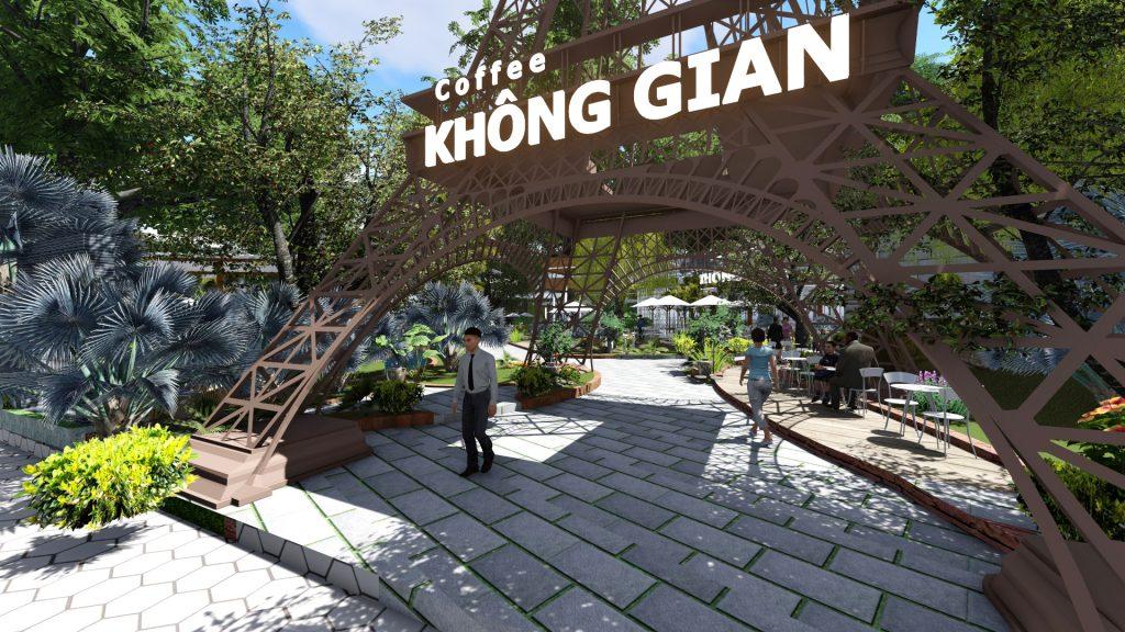 Thiết kế quán cafe sân vườn tại Tp.Bến Tre