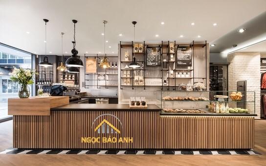 Thi công quán cafe đẹp