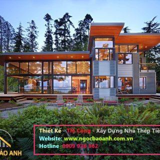 nhà khung thép tại Bình Tân