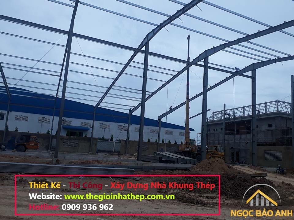 thi công nhà xưởng kết cấu thép (2)