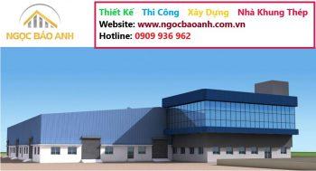 thi công nhà xưởng tại KCN Long Giang Long An (5)