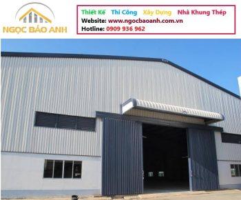 thi công nhà xưởng tại KCN Long Giang Long An (6)