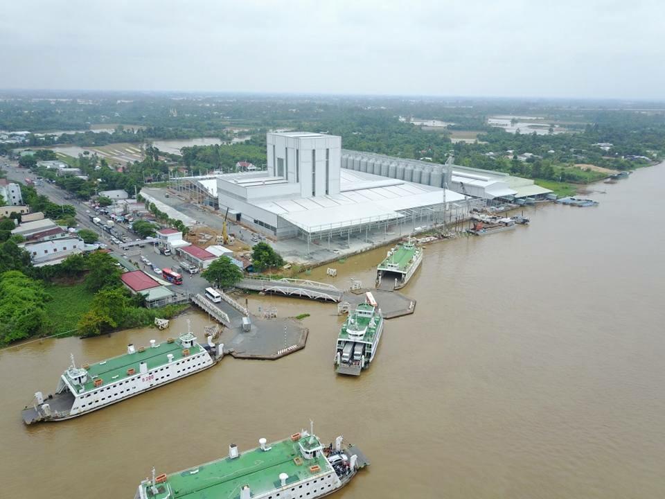 xây dựng nhà kết cấu thép tại Chợ Gạo Tiền Giang (2)