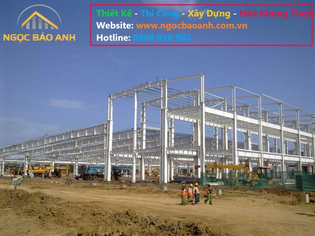 xây dựng nhà xưởng Quận 7