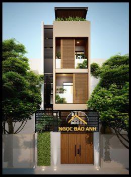 Xây dựng nhà phố Q8