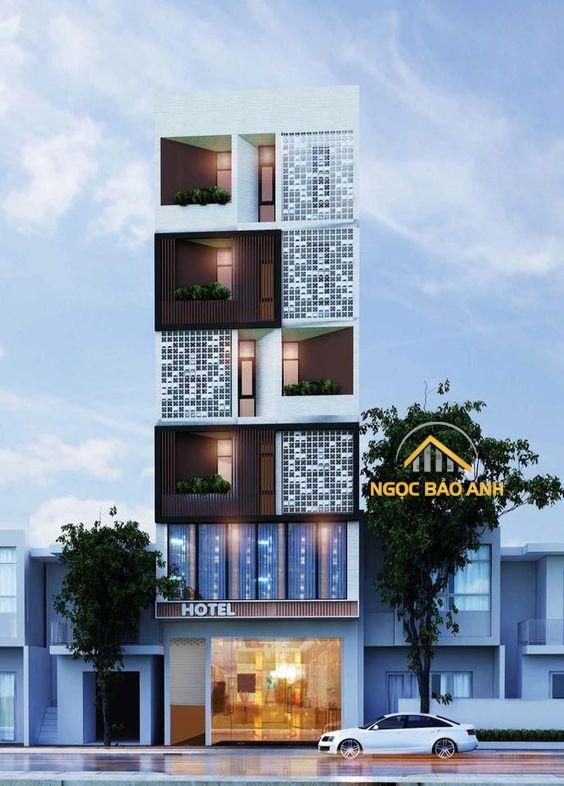 xây dựng nhà 4 tầng đẹp