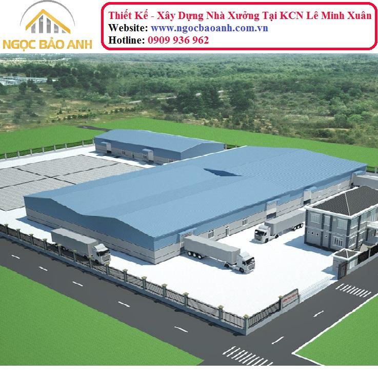 xây dựng nhà xưởng tại Bình Chánh (3)