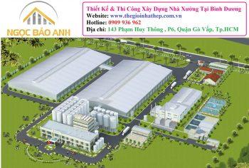 Xây Dựng Nhà Xưởng Tại Đồng Nai (3)