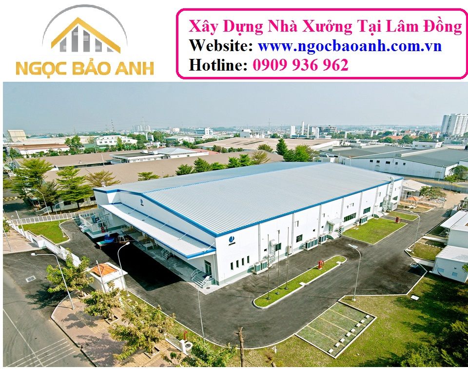 Thi công Xây dựng nhà xưởng Long Thành Đồng Nai