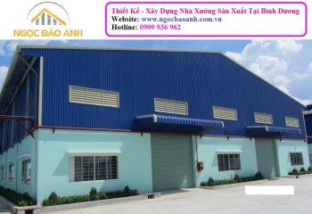 Xây dựng nhà kho tại Tân An Long An