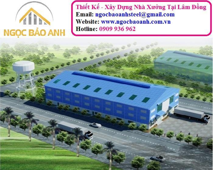 thiết kế nhà tiền chế tại Lâm Đồng