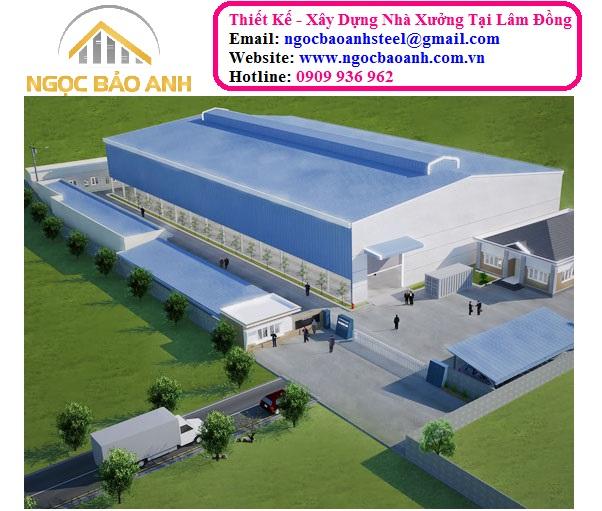 thi công xây dựng nhà kho tại Đà Lạt Lâm Đồng
