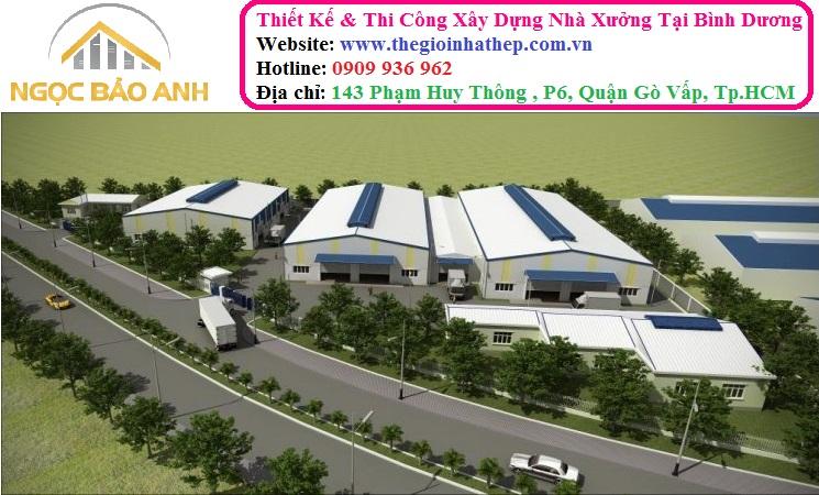 Thi công Xây dựng nhà xưởng Đồng Nai