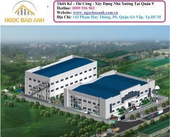 xây dựng nhà xưởng tại Bình Dương (2)