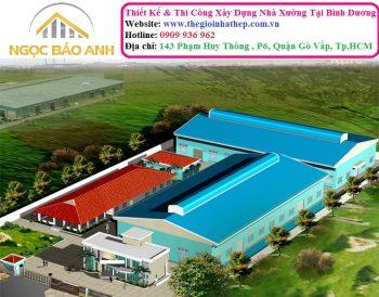 xây dựng nhà xưởng tại Bình Dương (4)