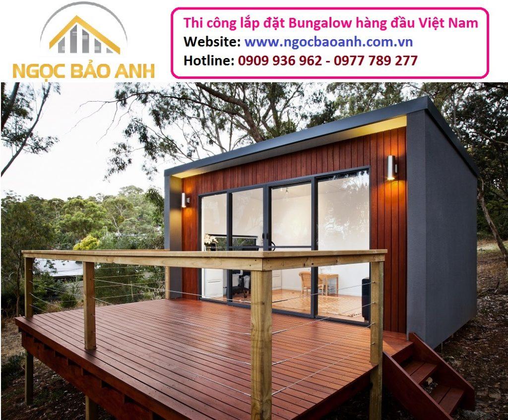 Bungalow khu nghỉ dưỡng đẹp