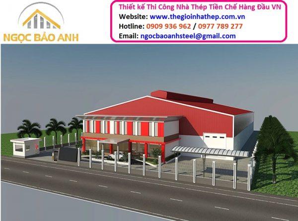Xây Dựng Nhà Thép Tiền Chế Tại Bình Dương Hotline: 0909 936 962 Email: ngocbaoanhsteel@gmail.com