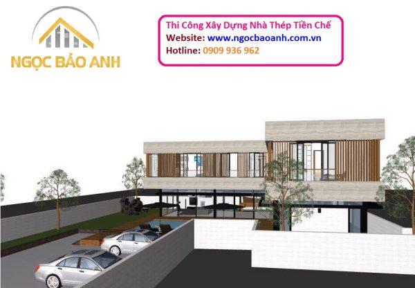 Xây dựng nhà tiền chế Đồng Nai