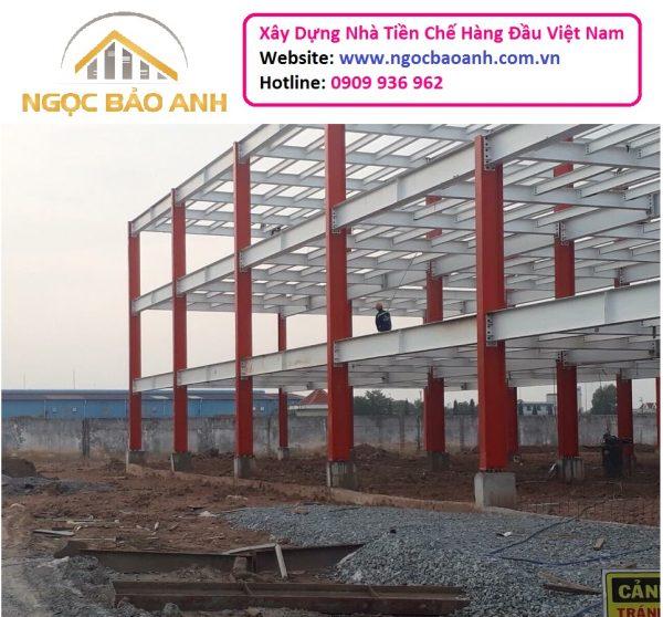Xây dựng nhà xưởng tại Đồng Nai (11)