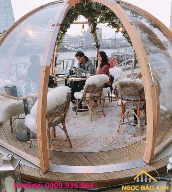 khung vòm cafe đẹp