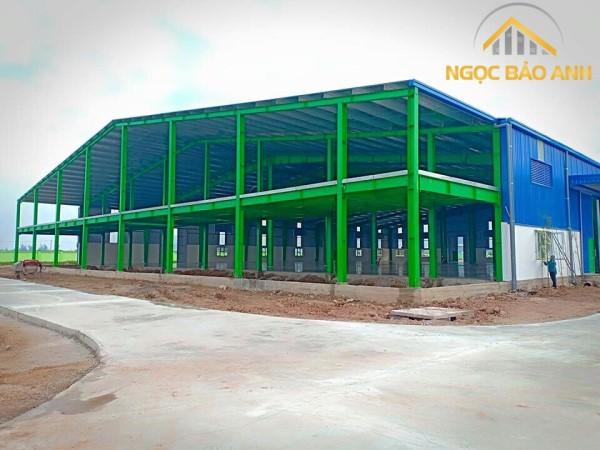xây nhà kho xưởng tại Huyện Nhà Bè