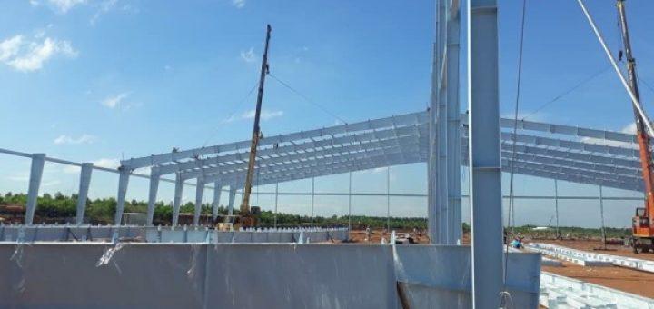 xây nhà kho xưởng tại Quận 12