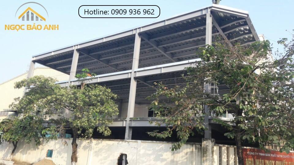 Nhà xưởng 3 tầng tại Bình Chánh