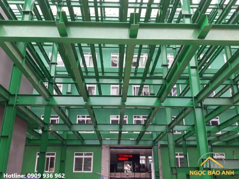 Phòng khám đa khoa bằng thép tiền chế