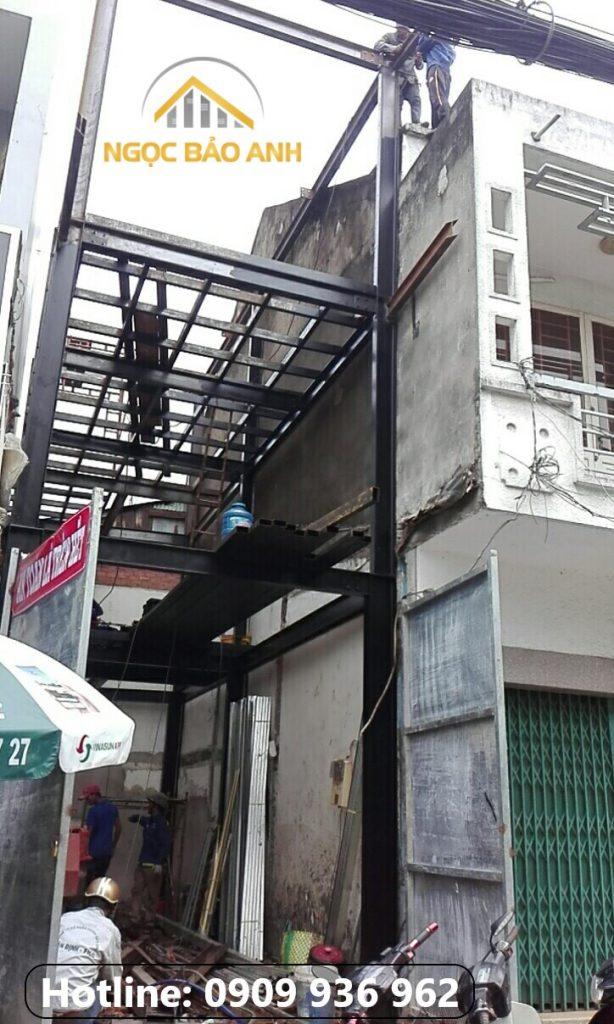 Quán cafe khung thép quận 1