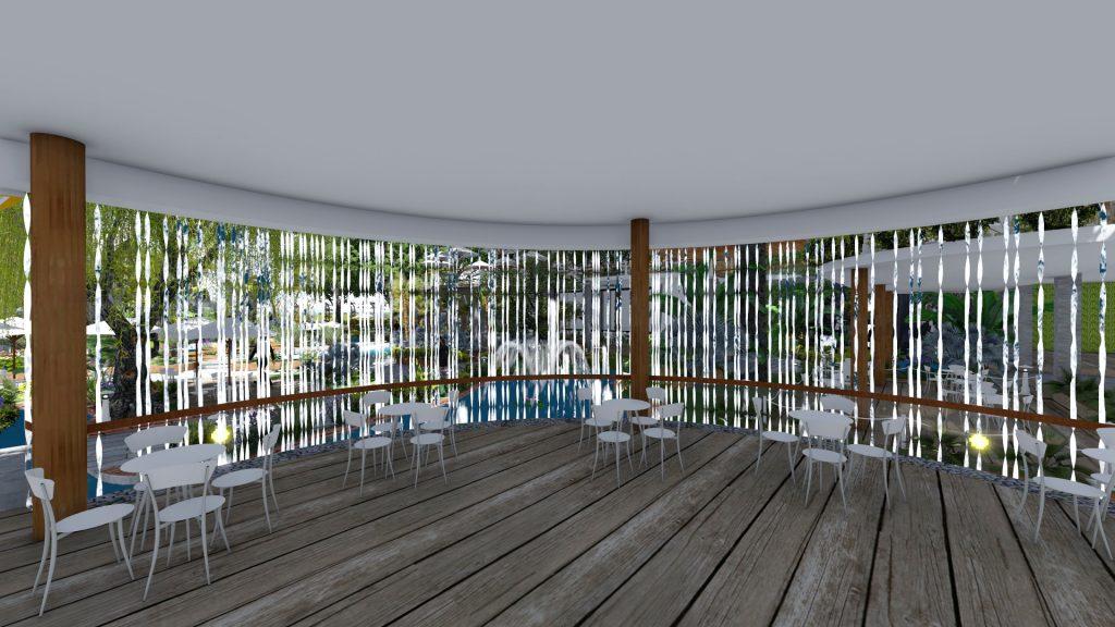 Thiết kế quán cafe sân vườn 4000m2