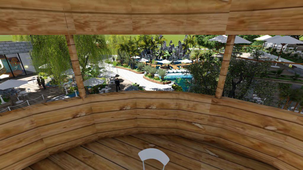 Thiết kế quán cafe sân vườn 5000m2