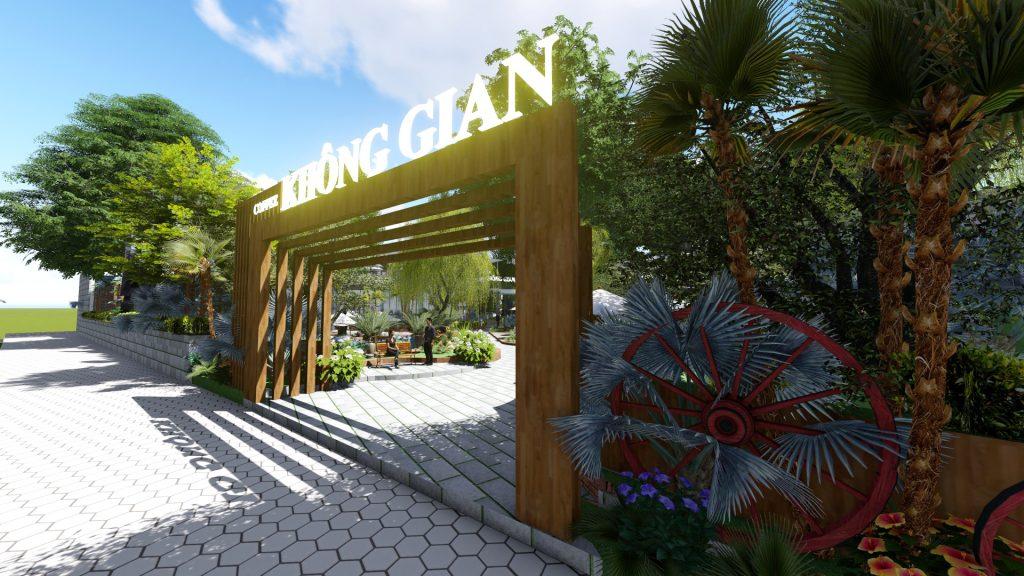 Thiết kế quán cafe sân vườn Tây Ninh