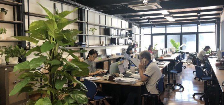 Office bằng khung thép tiền chế