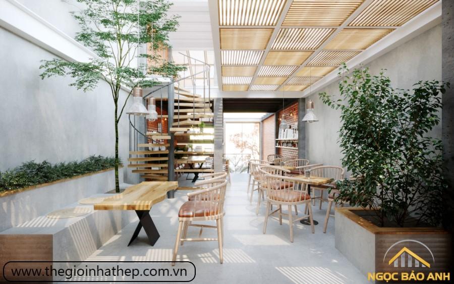 nội thất cafe vintage