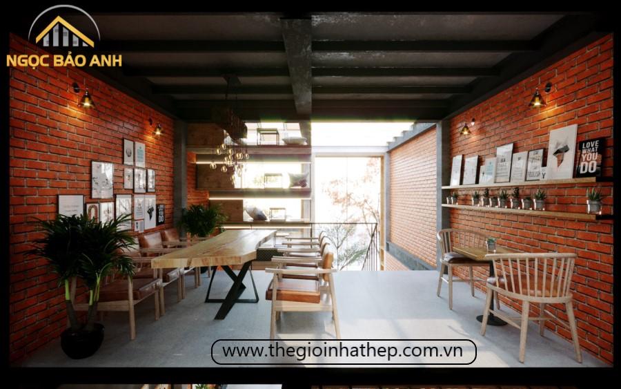 quán cafe đẹp tiền chế
