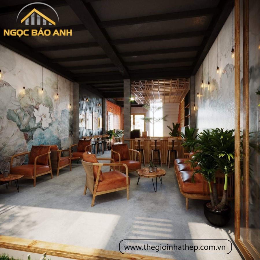 quán cafe tiền chế đẹp