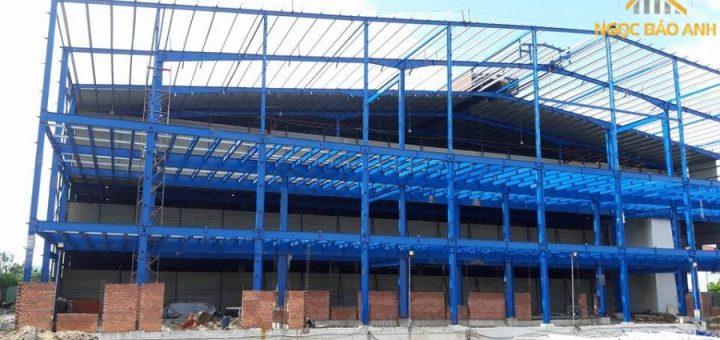 Xây dựng nhà kho tại Long An