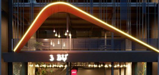Thiết kế nhà hàng bằng khung thép tiền chế đẹp