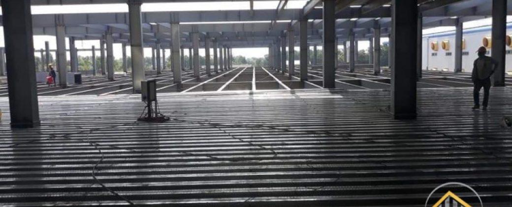 Nâng Tầng Nhà Xưởng 8000m2 Tại KCN Đồng An Tỉnh Bình Dương