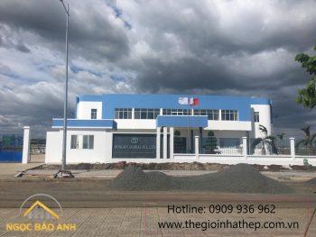 Thi công xây dựng nhà xưởng Bình Phước