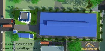 Xây dựng nhà xưởng Becamex Chơn Thành