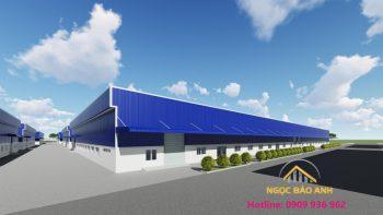 Xây dựng nhà xưởng KCN Bàu Bàng