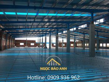 nâng tầng nhà xưởng KCN Đồng An