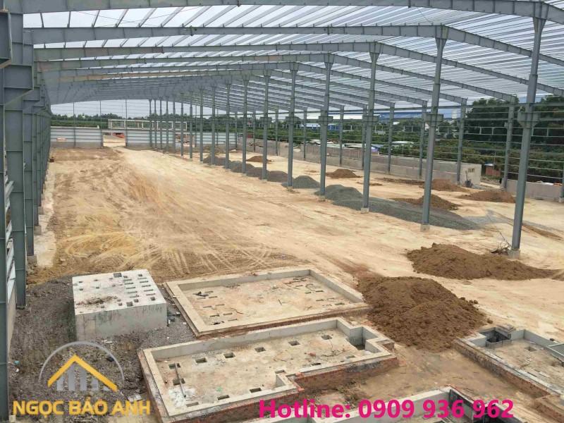 xây dựng nhà xưởng 10.000m2