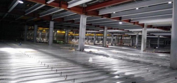 Cải tạo nâng tầng nhà xưởng